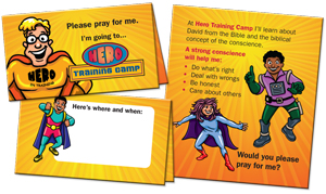 VBS Prayer Cards