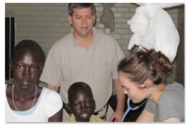 Melissa in Sudan photo