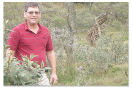 Scott on Safari in Africa photo