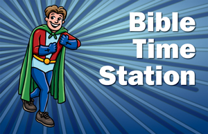 Bible Time Station Poster